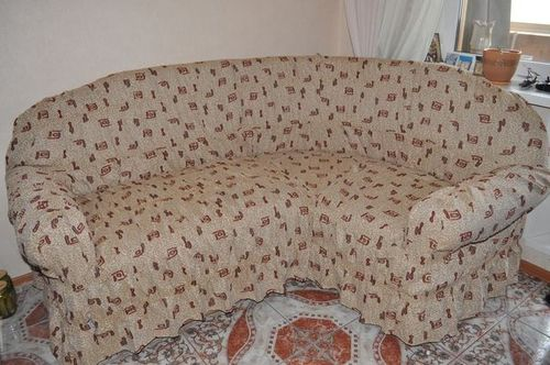 Пошив чехлов на угловой диван своими руками