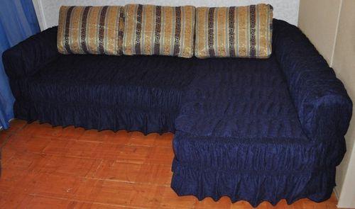 Как пошить чехол на угловой диван своими руками видео